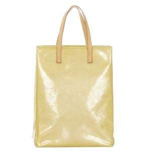Louis Vuitton Brown Monogram Vernis Reade MM Bag