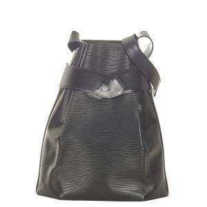 Louis Vuitton Black Epi Leather Sac dEpaule Bag