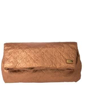 Louis Vuitton Saumon Monogram Limelight Clutch