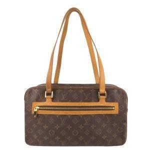 Louis Vuitton Monogram Canvas Cite GM Bag