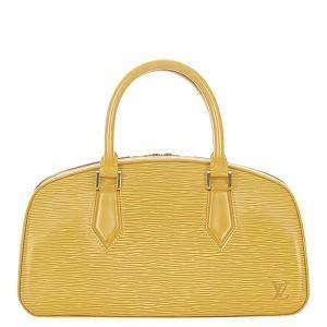 Louis Vuitton Yellow Epi Leather Jasmine Bag