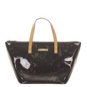 Louis Vuitton Brown Monogram Vernis Bellevue PM Bag
