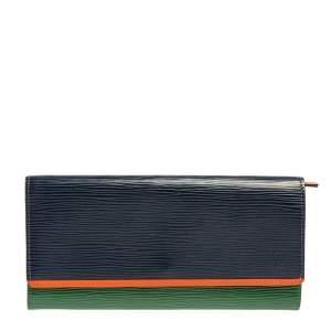 Louis Vuitton Tri Color Epi Leather Flore Wallet