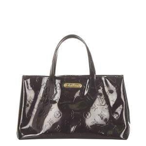 Louis Vuitton Brown Monogram Vernis Wilshire PM Bag