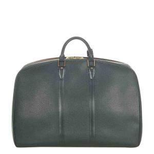 Louis Vuitton Green Taiga Leather Kendall GM Bag