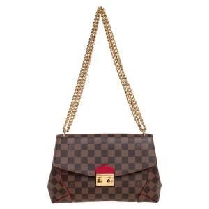 Louis Vuitton Damier Ebene Canvas Caissa Flap Bag