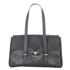 Louis Vuitton Black Epi Leather Segur MM Bag