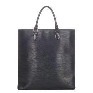 Louis Vuitton Black Epi Leather Sac Plat PM Bag