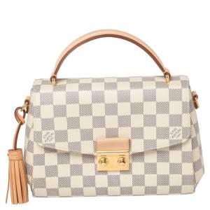 Louis Vuitton Damier Azur Canvas Croisette Bag