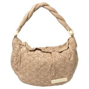 Louis Vuitton Ecru Monogram Leather  Limited Edition Olympe Nimbus PM Bag
