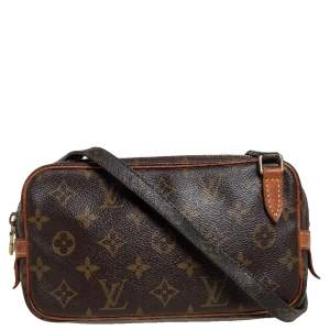 Louis Vuitton Monogram Canvas Pochette Marly Bandouliere Bag