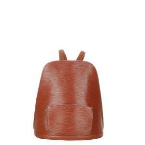 Louis Vuitton Brown Epi Leather Gobelins Backpack