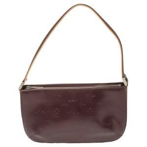 Louis Vuitton Purple Monogram Mat Fowler Bag