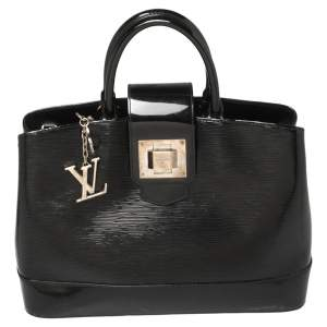 """حقيبة لوي فيتون """"ميرابو"""" جلد إيبي اليكتريك أسود"""