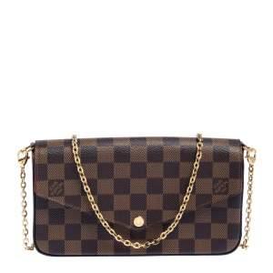 Louis Vuitton Damier Ebene Canvas Felicie Pochette Bag