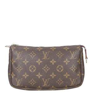 Louis Vuitton Monogram Canvas Pochette Accessoires Bag