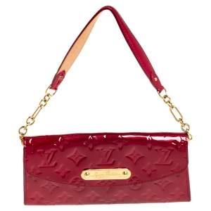 Louis Vuitton Pomme D'amour Monogram Vernis Sunset Boulevard Bag