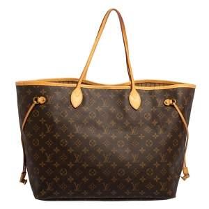 Louis Vuitton Monogram Canvas Neverfull GM Bag