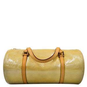 Louis Vuitton Yellow Monogram Vernis Bedford Bag