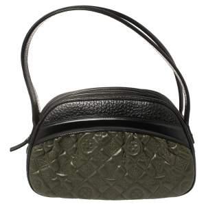Louis Vuitton Olive Monogram Leather Limited Edition Mizi Bag