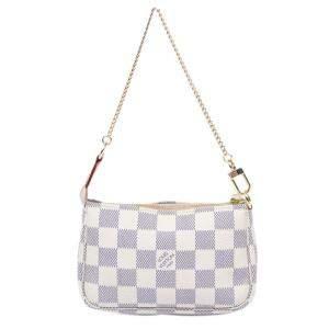 Louis Vuitton Damier Azur Canvas Pochette Bag