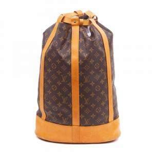 Louis Vuitton Monogram Canvas Randonnee Backpack Vintage GM Bag