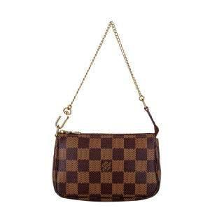 Louis Vuitton Damier Ebene Canvas Pochette Accessoires Bag