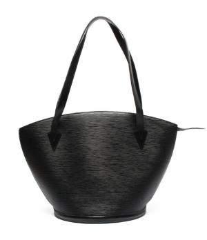 Louis Vuitton Black Epi Leather Saint Jacques GM Shoulder Bag