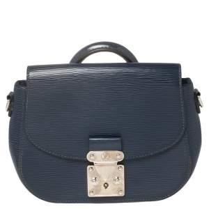 Louis Vuitton Indigo Epi Leather Eden PM Bag