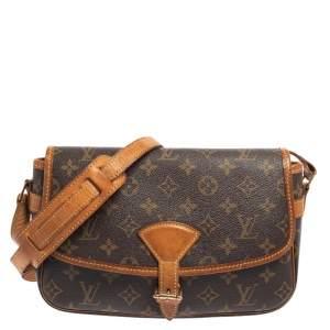 Louis Vuitton Brown Monogram Canvas Sologne Bag