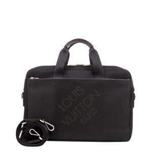 Louis Vuitton Black Damier Geant Canvas Associe PM Bag