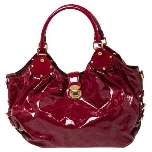 Louis Vuitton Cerise Mahina Patent Leather Limited Edition Surya L Bag