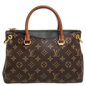 Louis Vuitton Black Monogram Canvas Pallas BB Bag