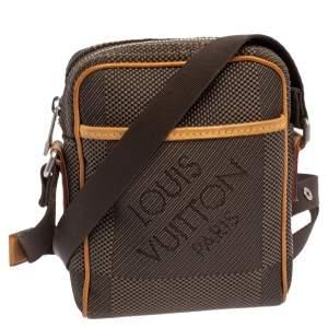 Louis Vuitton Terre Damier Geant Canvas Mini Citadin Messenger Bag