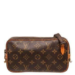 Louis Vuitton Monogram Canvas Marly Bandouliere Crossbody Bag