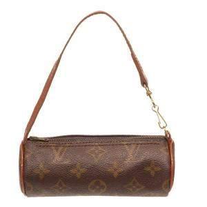 Louis Vuitton Brown Monogram Canvas Papillon Mini Bag
