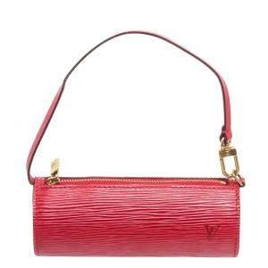 Louis Vuitton Red Epi Leather Papillon Bag