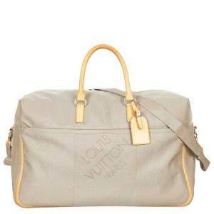 Louis Vuitton Brown Damier Geant Canvas Souverain Duffle Bag