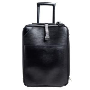 حقيبة أمتعة لوى فيتون 50 بيغاس جلد إيبى أسود