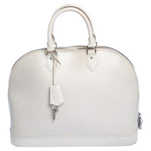 Louis Vuitton Ivorie Epi Leather Alma GM Bag
