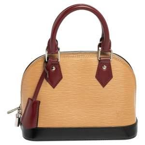 Louis Vuitton Tri-Color Epi Leather Alma BB Bag