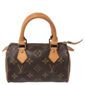 Louis Vuitton Monogram Canvas Speedy Nano Bag