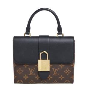 Louis Vuitton Monogram Canvas and Leather Locky BB Bag