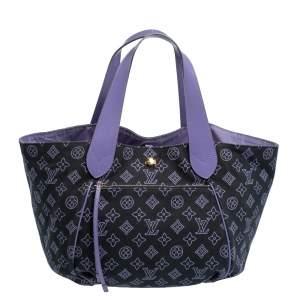 Louis Vuitton Marine Canvas Cabas Ipanema PM Bag