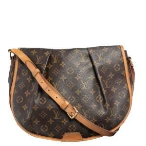 Louis Vuitton Monogram Canvas Menilmontant MM Bag