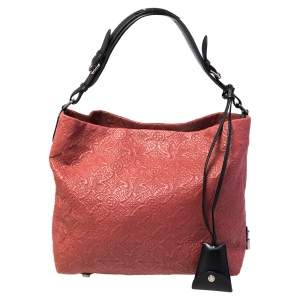 Louis Vuitton Framboise Monogram Antheia Leather Brode GM Bag