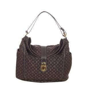 Louis Vuitton Brown Monogram Mini Lin Canvas Romance Bag