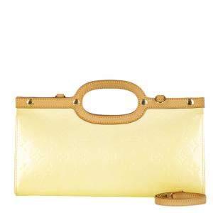 Louis Vuitton Brown Vernis Leather Roxbury Drive Shoulder Bag
