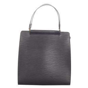 Louis Vuitton Black Epi Leather Figari MM Bag