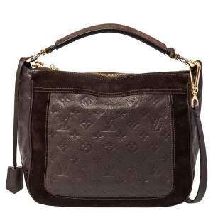 Louis Vuitton Terre Monogram Empreinte Leather Audacieuse PM Bag